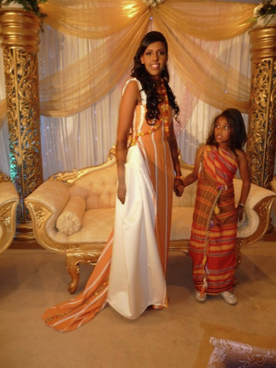 somali wedding dress